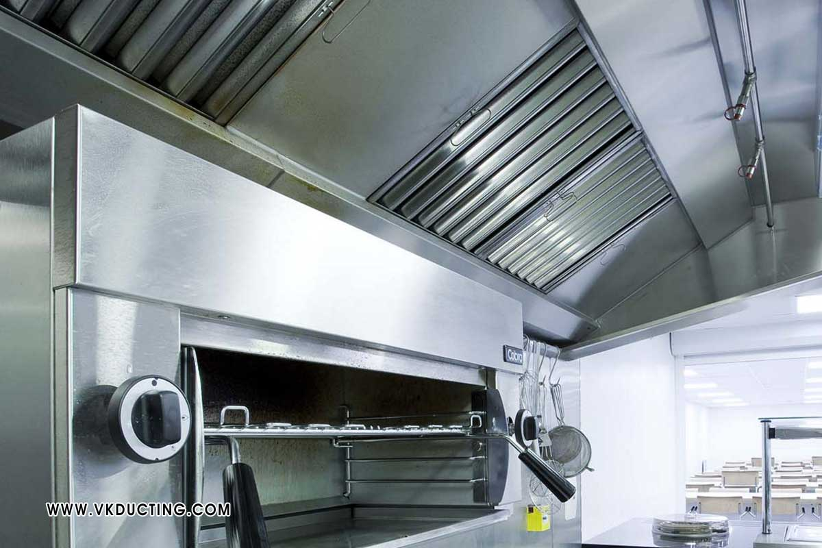Hotel Kitchen Exhaust Ducting Air Conditioning for Malls Mutiplex Ducting Industrial Exhaust Ducting Air Cooler Ducting Hot Fresh Air Ducting manufacturers in ludhiana punjab india
