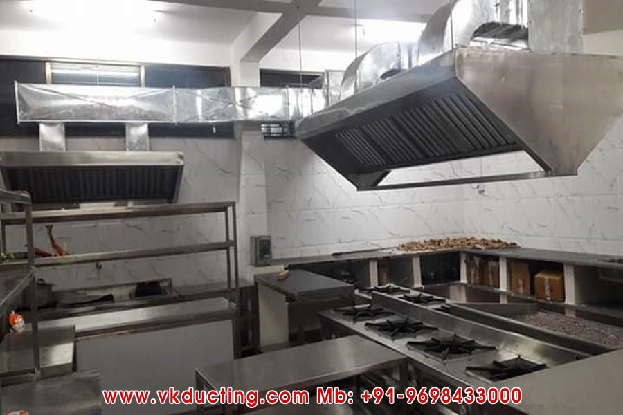 Hotel Kitchen Air Exhaust Ducting Manufacturers in Ludhiana Punjab India