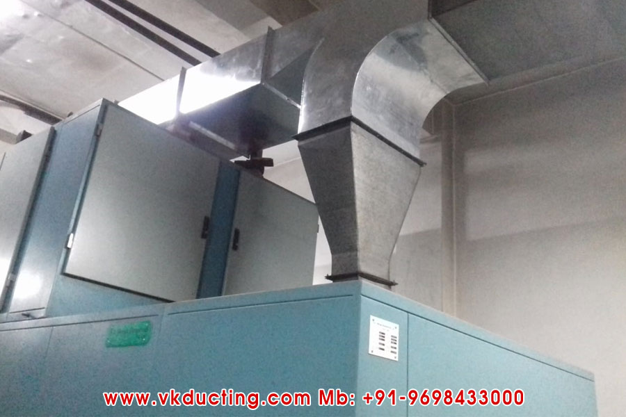 Paint Booth Exhaust Duct System Manufacturers in Ludhiana Punjab India