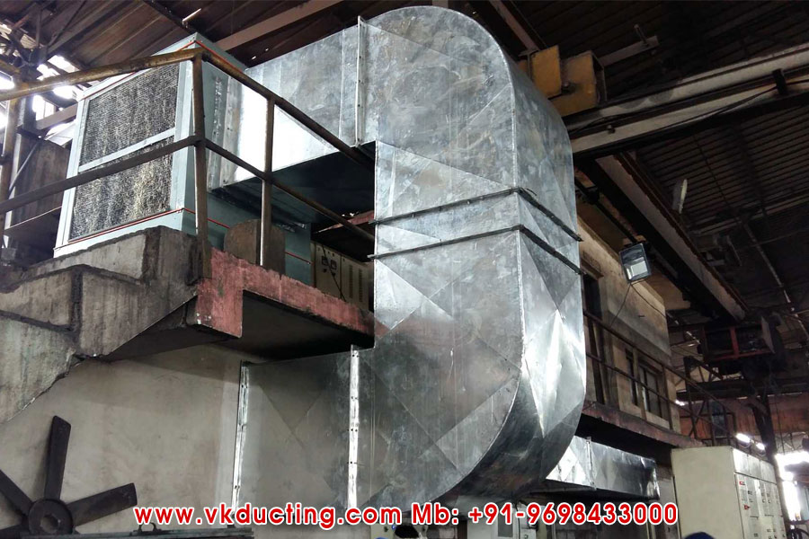 Factory Air Exhaust Ducting Manufacturers in Ludhiana Punjab India